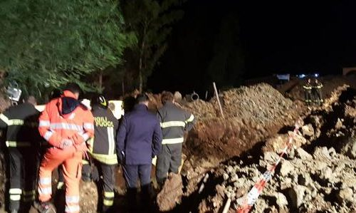 Incidenti lavoro: frana terreno, 4 morti a Crotone